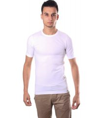 schiesser men stretch t-shirt o-neck white
