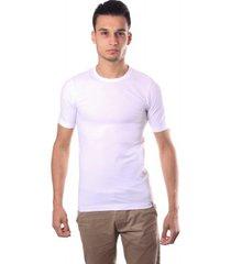 schiesser men stretch t-shirt o-neck white