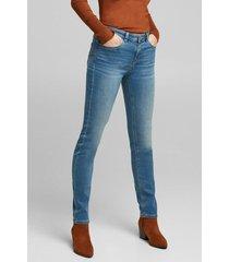 jeans mujer slim medium rise celeste denim esprit