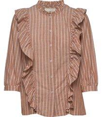 hanni shirt blouse lange mouwen roze lollys laundry
