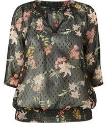 blus xemma 3/4 blouse