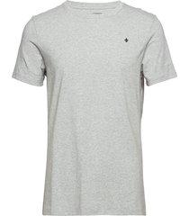 james tee t-shirts short-sleeved grå morris