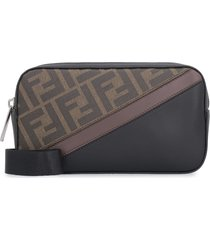 fendi camera case small fabric shoulder bag