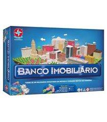 jogo banco imobiliário estrela grande colorido