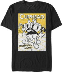 fifth sun men's don't deal with the devil poster short sleeve t- shirt