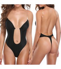 backless bra full body shaper thong convertible seamless low back max cleavage