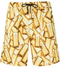 billionaire short de natação - amarelo
