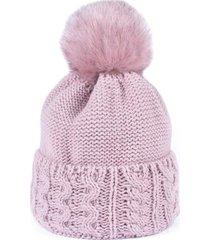 czapka gorska wedrowka rozowa