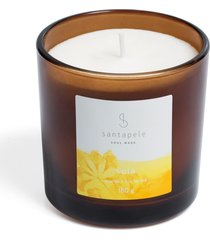 vela santapele ananás e flor de ipê