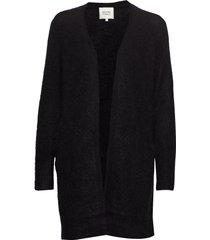 brook knit new pocket cape gebreide trui cardigan zwart second female