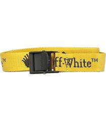 off-white logo mini belt