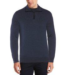 sweater quarter azul piedra perry ellis