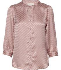 amalie shirt blus långärmad rosa lollys laundry