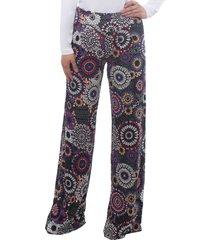 pantalones palazzo mandala multicolor bunnys
