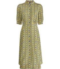 aspesi all-over print dress - blue
