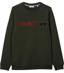 givenchy khaki green sweatshirt