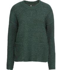 maglione con tasche (verde) - rainbow