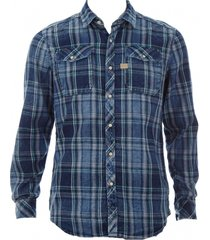 g-star flannel overhemd slim fit