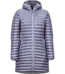 chaqueta long avant featherless hoody morado marmot