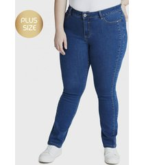 jeans recto celeste curvi