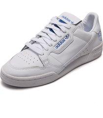 tenis lifestyle blanco-azul adidas originals continental 80