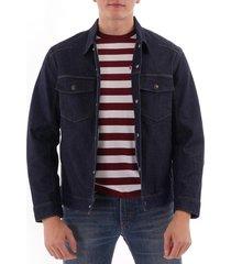 lej trucker denim jacket - rinse denim 67778-0001