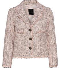 6633 - cheryl blazers bouclé blazers rosa sand