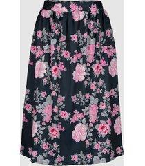 kjol laura kent marinblå