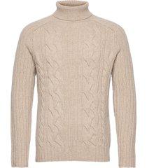 italian wool-blend turtleneck sweater knitwear turtlenecks beige banana republic