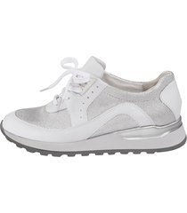 skor för breda fötter waldläufer vit