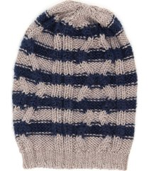massimo alba striped beanie