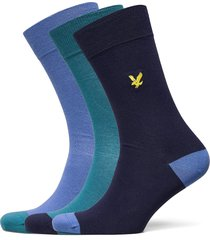 kennedy underwear socks regular socks blå lyle & scott