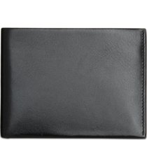 perry ellis men's portfolio leather passcase & removable card case