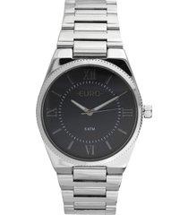 relógio euro eu2035yoz/3p prata