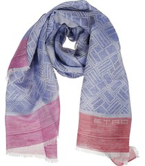 etro scarf logo