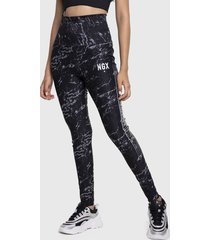 legging ngx long band multicolor - calce ajustado
