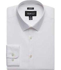 awearness kenneth cole white diamond extreme slim fit dress shirt