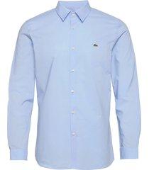 mens shirt skjorta casual blå lacoste