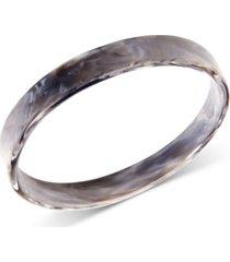 zenzii tortoise-look bangle bracelet