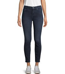 gwenevere high-waist ankle skinny jeans