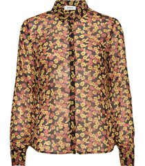 annabelle print shirt overhemd met lange mouwen multi/patroon modström