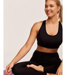 ally strappy yoga bralette