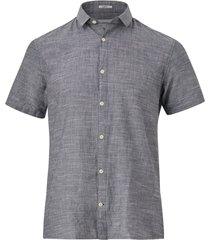 skjorta mélange shirt s/s