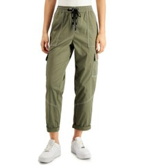 dickies juniors' cropped cargo pants