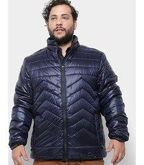 jaqueta delkor nylon plus size masculina