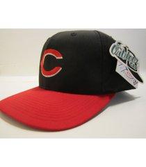cincinnati reds mlb vintage late '90's road cap (new) by outdoor cap co.