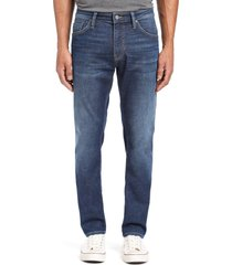mavi jeans jake slim fit jeans, size 35 x 32 in dark brushed cashmere at nordstrom