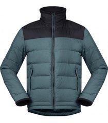 bergans jas men oslo down light forest frost black-m