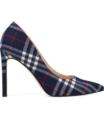 zapato de tacón de mujer tatiana nine west - azul