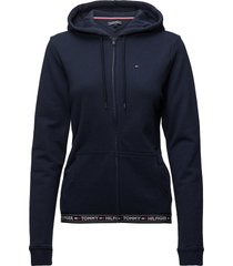 hoody hwk night & loungewear hoodies blauw tommy hilfiger